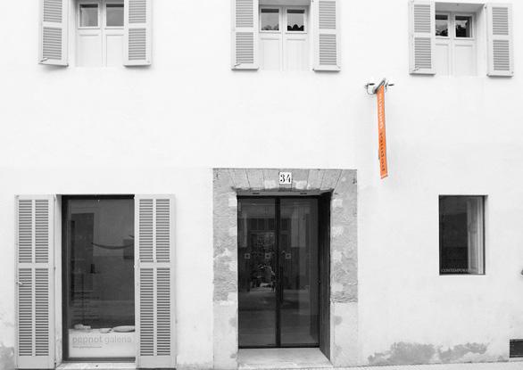 facade of the gallery
